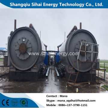 Recycling Energy Waste Tire Pyrolysis Technology